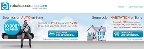 Rabais Assurance Auto Habitation Soumission